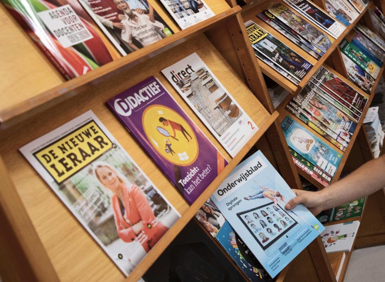 Magazines in rek